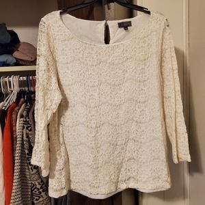 The Limited lace top xl